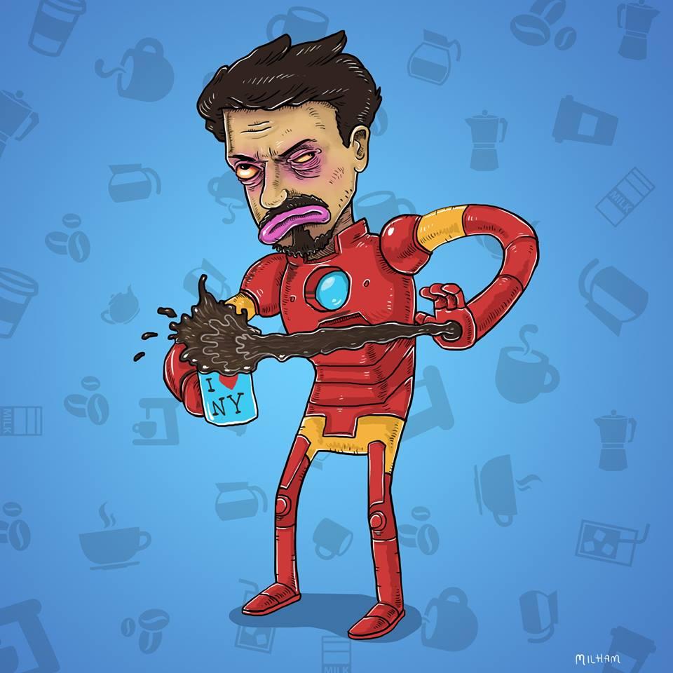Iron man par Sam Milham